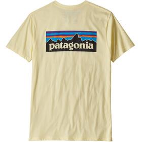 Patagonia M's P-6 Logo Organic T-Shirt Resin Yellow